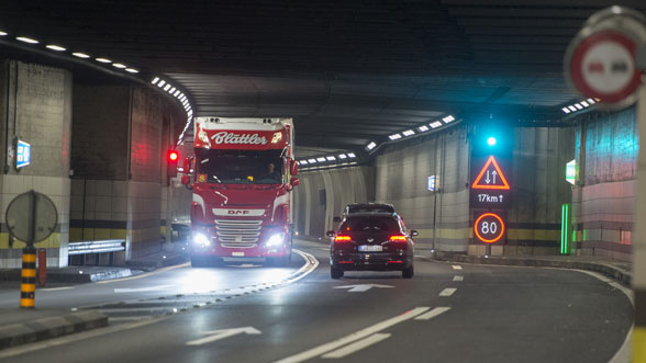 Réfection du tunnel routier du Gothard